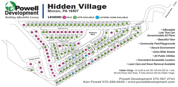 Hidden Village Check out Hidden Village in Moosic by tappng now!